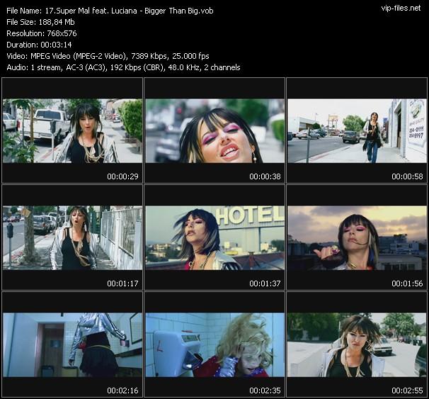 Super Mal Feat. Luciana video screenshot