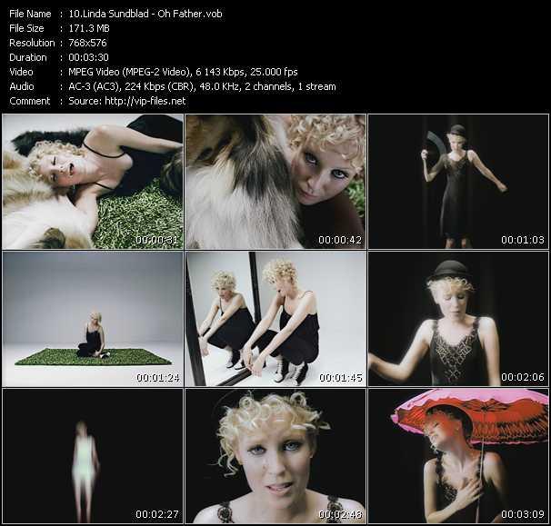 Linda Sundblad video screenshot