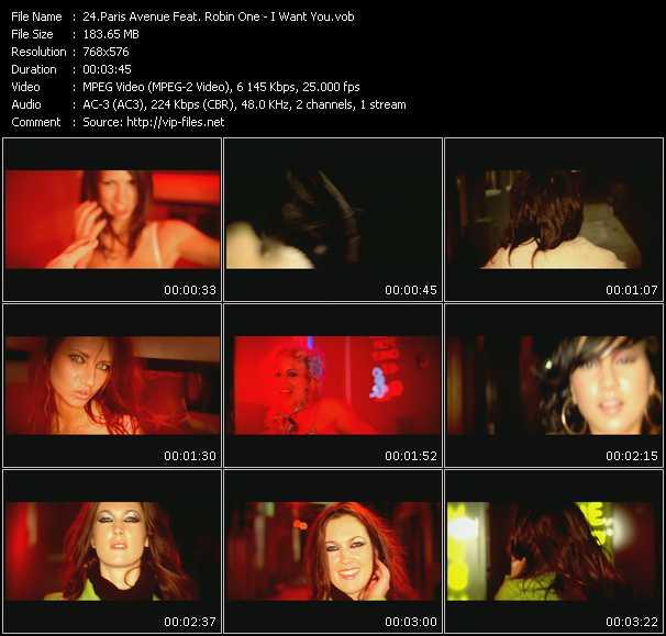 Paris Avenue Feat. Robin One video screenshot