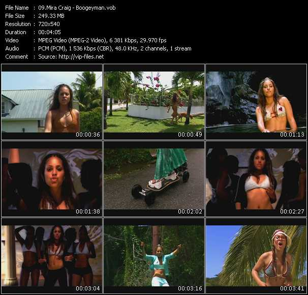 Mira Craig video screenshot