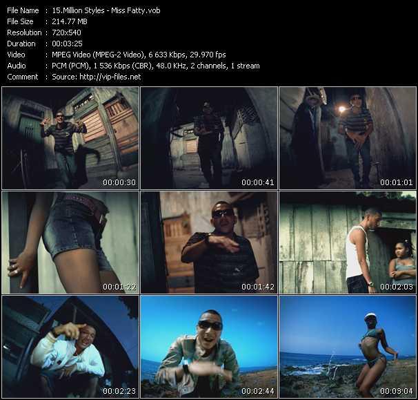 Million Styles video screenshot