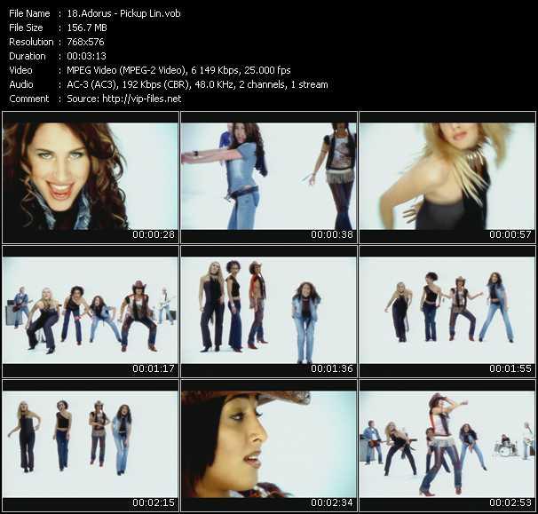 Adorus video screenshot