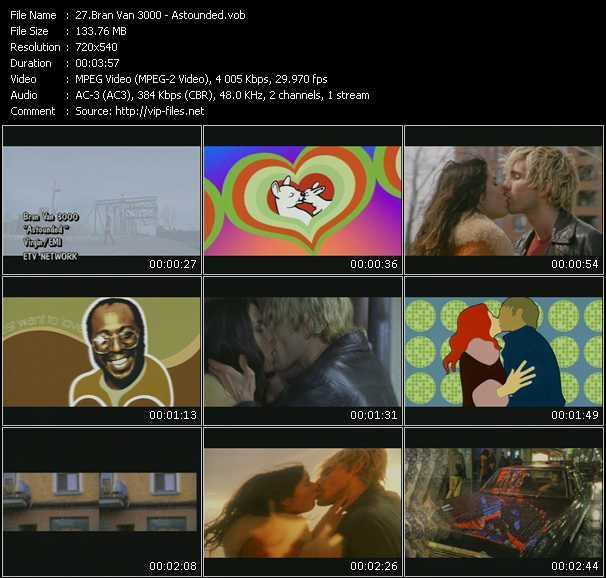 Bran Van 3000 video screenshot