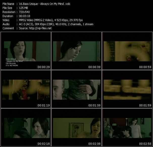 Bass Unique video screenshot