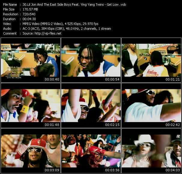 Lil' Jon And The East Side Boyz Feat. Ying Yang Twins video screenshot