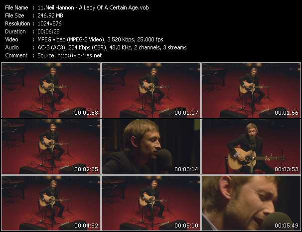 Neil Hannon video screenshot