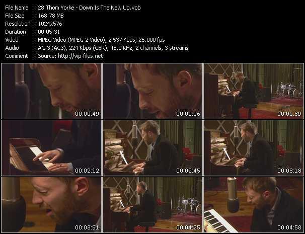 Thom Yorke video screenshot