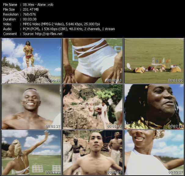 Wes video screenshot