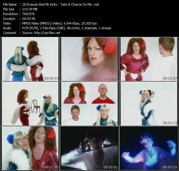 Erasure And Mc Kinky video screenshot