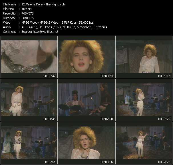 Valerie Dore video screenshot