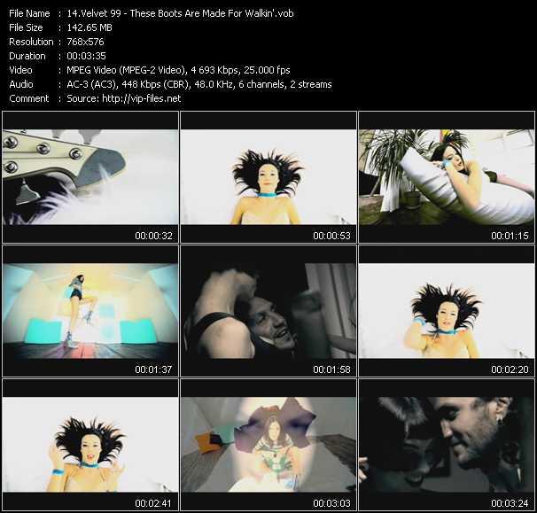Velvet 99 video screenshot
