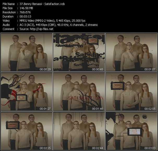 Benny Benassi video screenshot