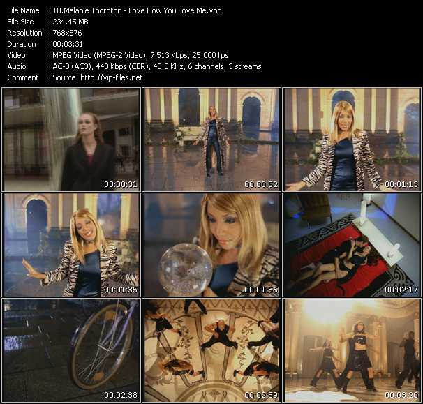Melanie Thornton video screenshot