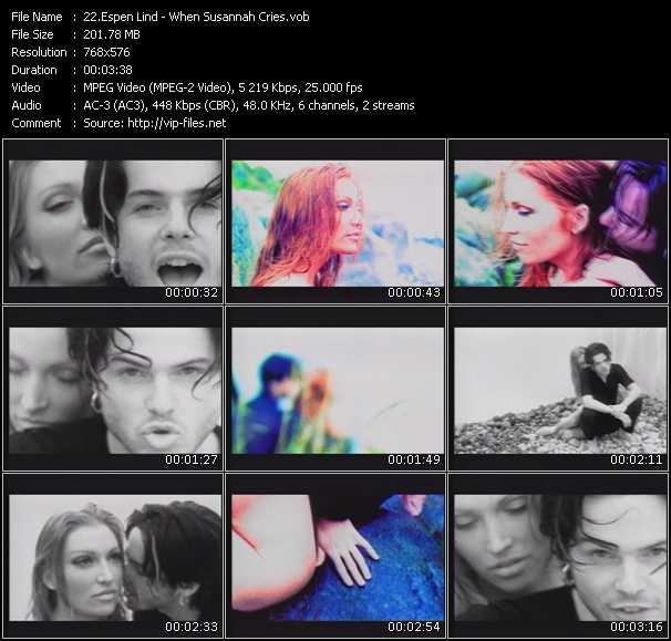 Espen Lind video screenshot