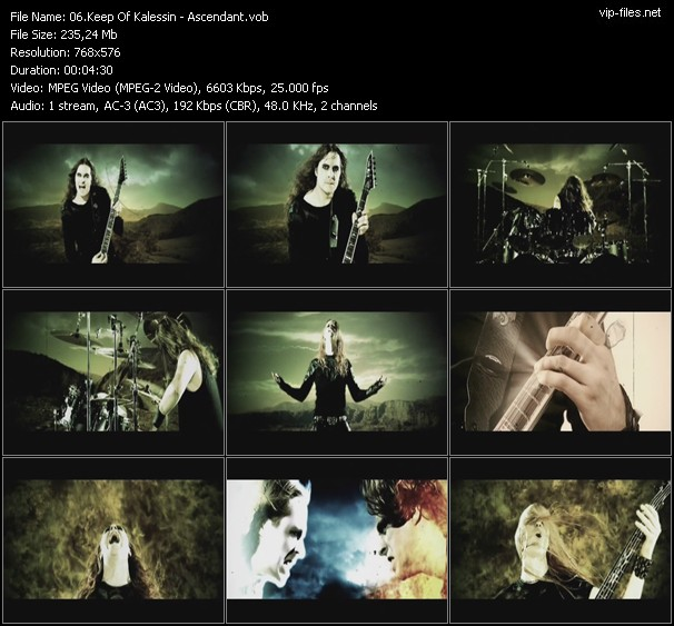 Keep Of Kalessin video screenshot