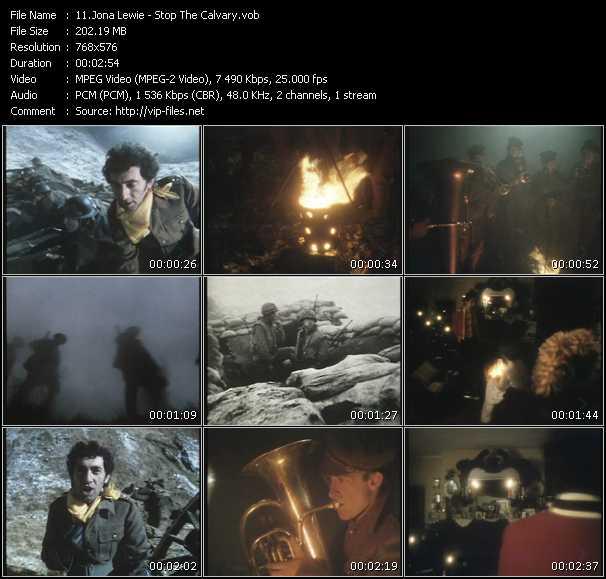 Jona Lewie video screenshot