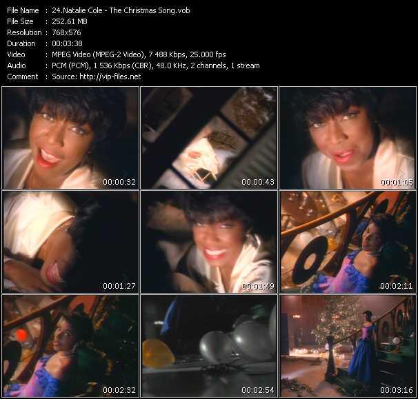 Natalie Cole video screenshot