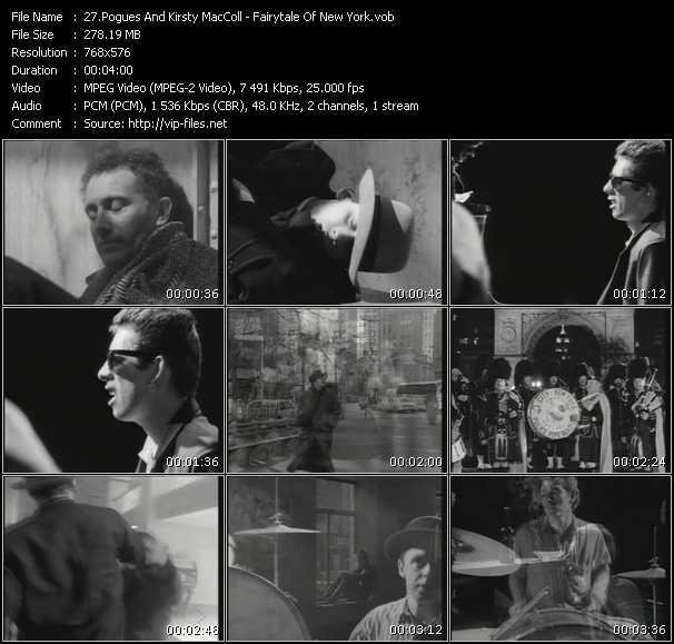 Pogues And Kirsty MacColl video screenshot