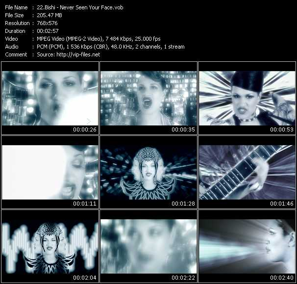 Bishi video screenshot