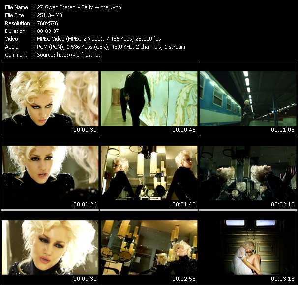Gwen Stefani video screenshot