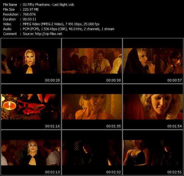 Fifty Phantoms video screenshot