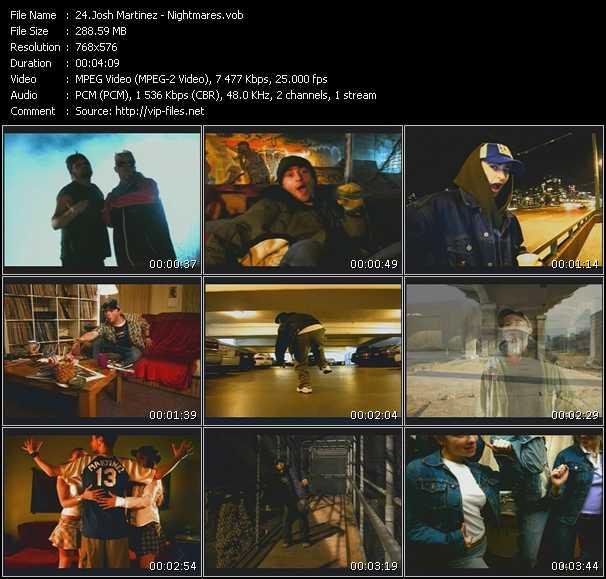 Josh Martinez video screenshot