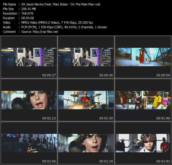 Jason Nevins Feat. Marc Bolan video screenshot