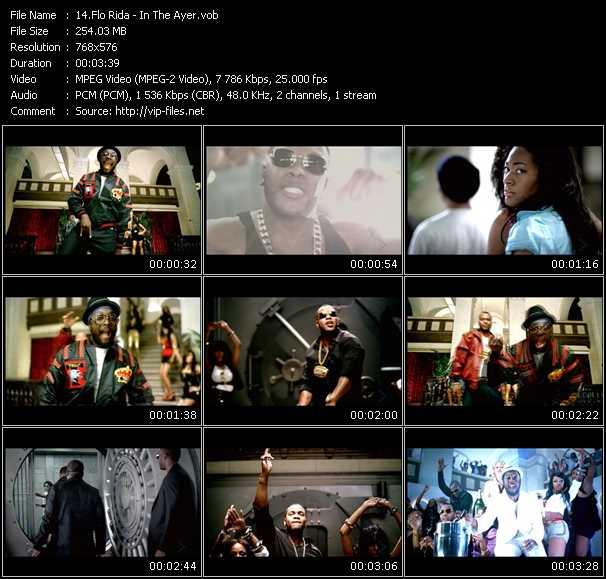 Flo Rida video screenshot