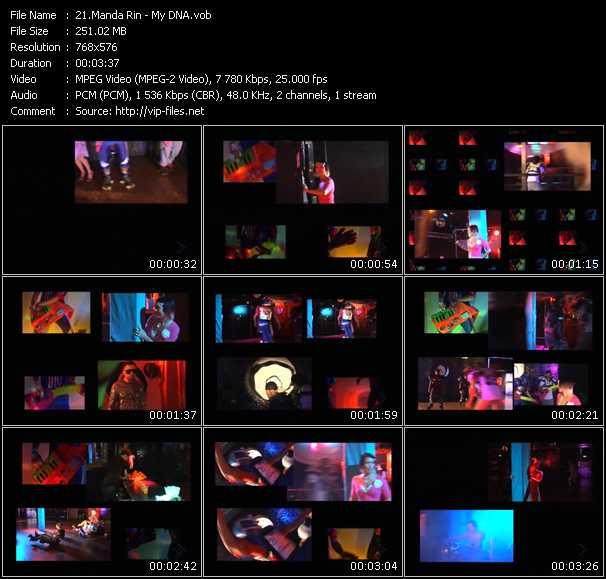 Manda Rin video screenshot