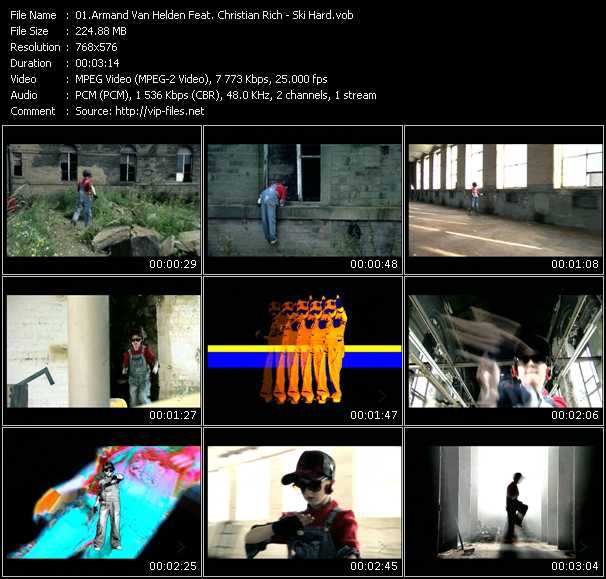 Armand Van Helden Feat. Christian Rich video screenshot