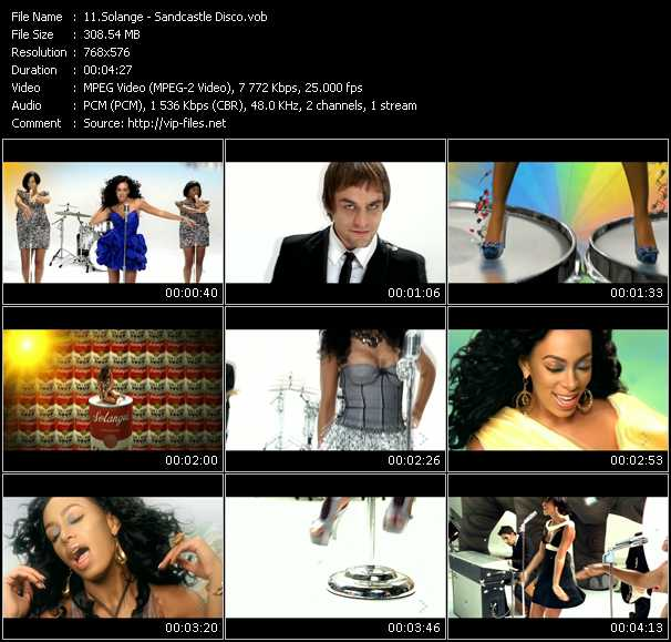 Solange video screenshot