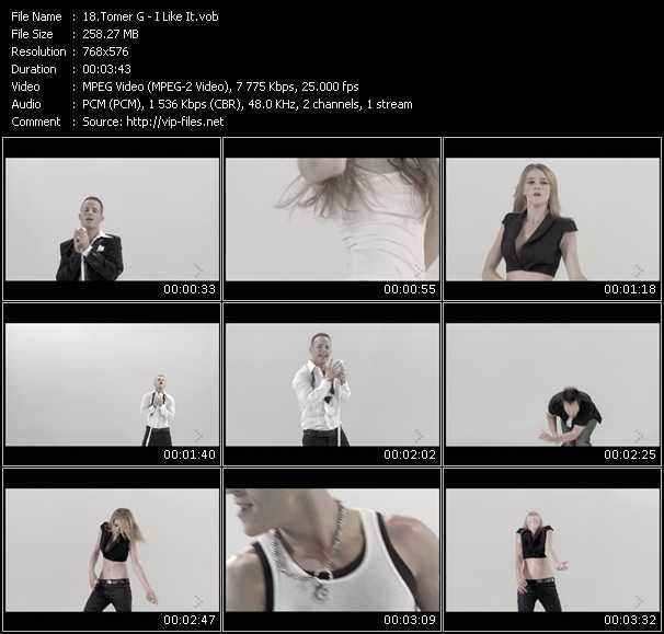 Tomer G video screenshot