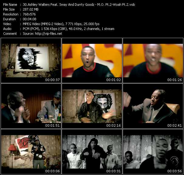 Ashley Walters Feat. Sway And Durrty Goodz video screenshot