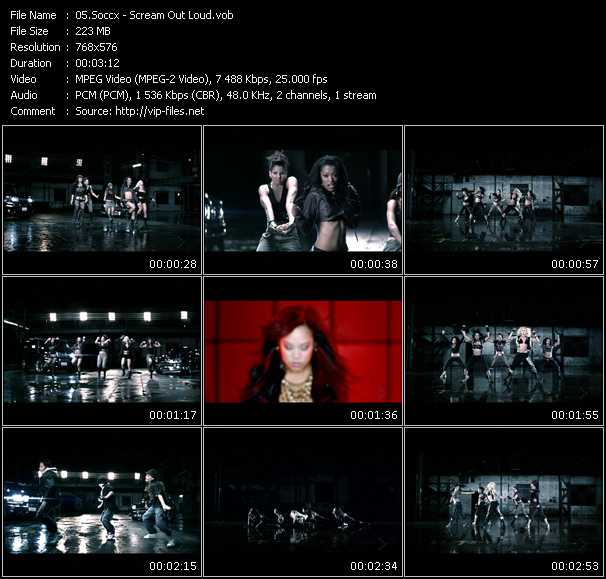 Soccx video screenshot