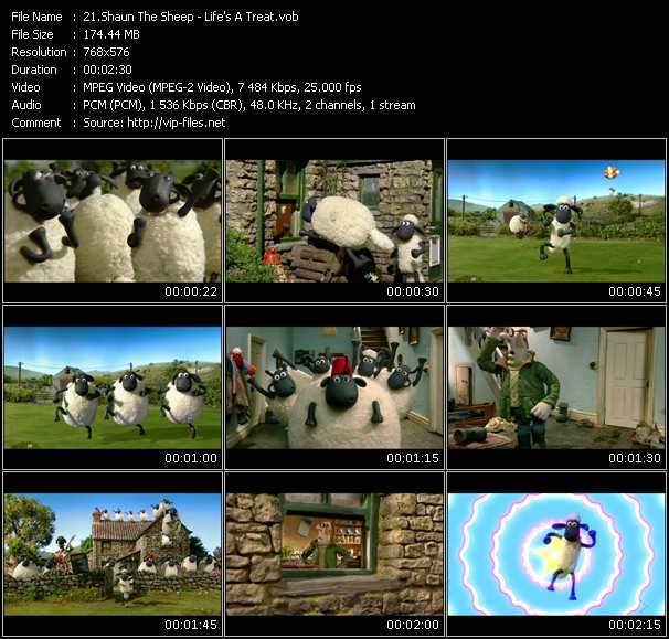 Shaun The Sheep video screenshot