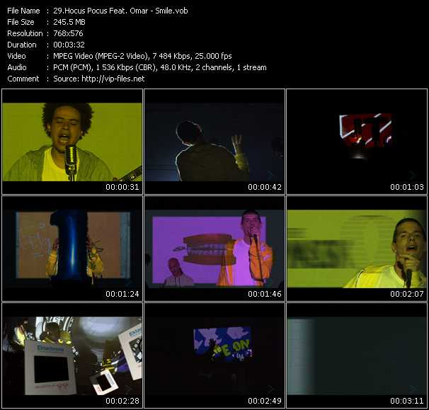 Hocus Pocus Feat. Omar video screenshot