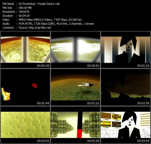 Powerdust video screenshot
