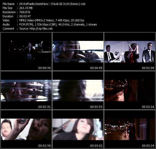 Raffaella Destefano video screenshot