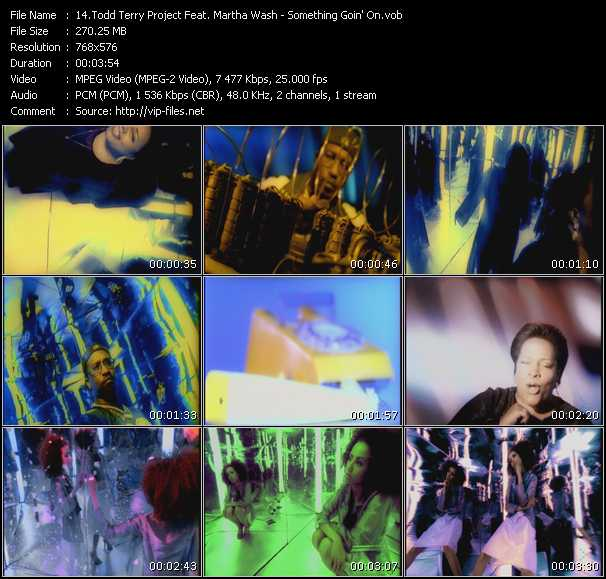 Todd Terry Project Feat. Martha Wash video screenshot