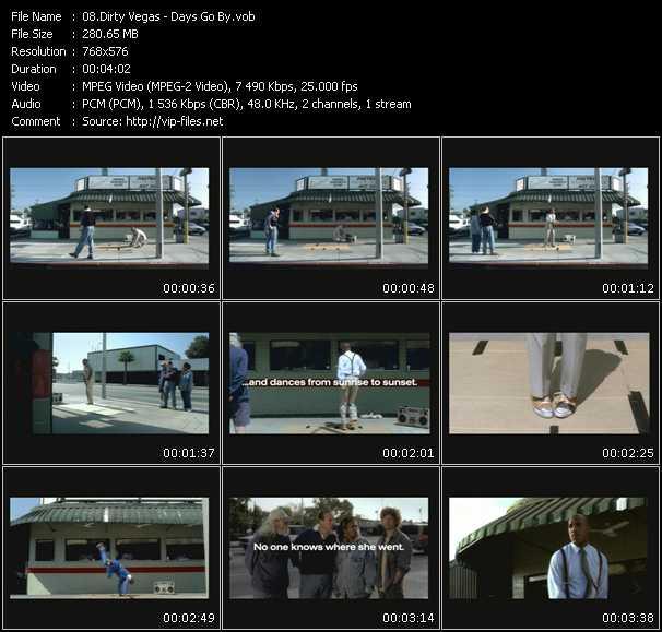 Dirty Vegas video screenshot