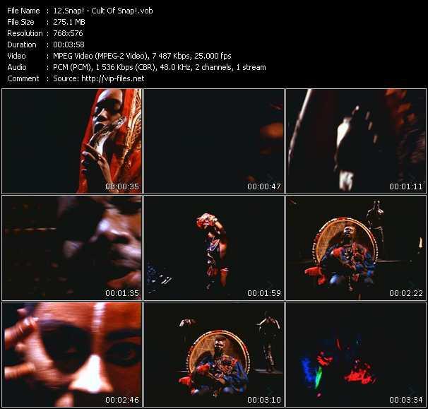 video Cult Of Snap! screen
