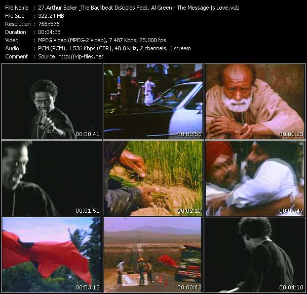 Arthur Baker And The Backbeat Disciples Feat. Al Green video screenshot