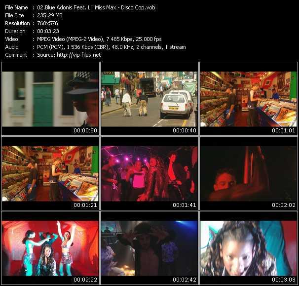 Blue Adonis Feat. Lil' Miss Max video screenshot