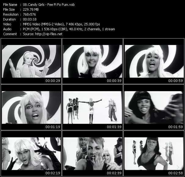 Candy Girls video screenshot