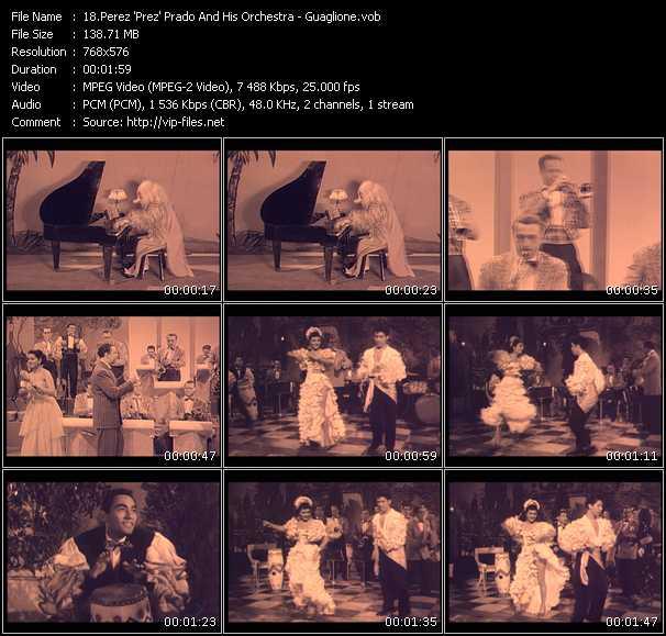 Perez 'Prez' Prado And His Orchestra video screenshot