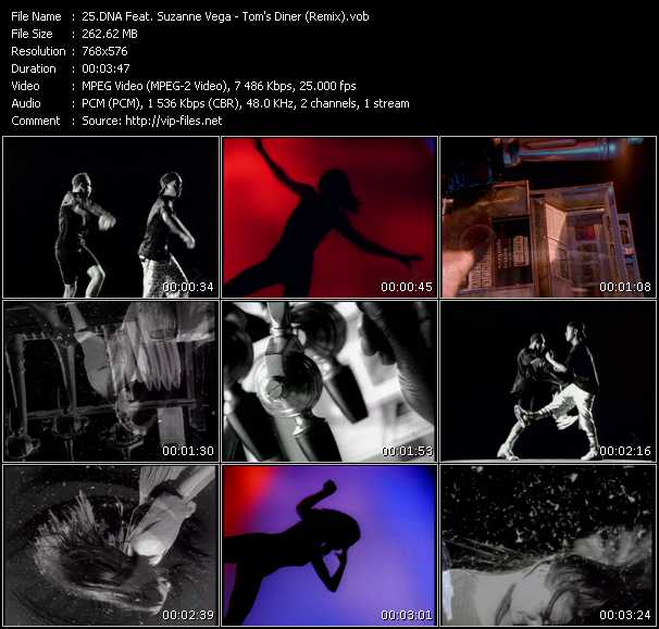 Dna Feat. Suzanne Vega video screenshot