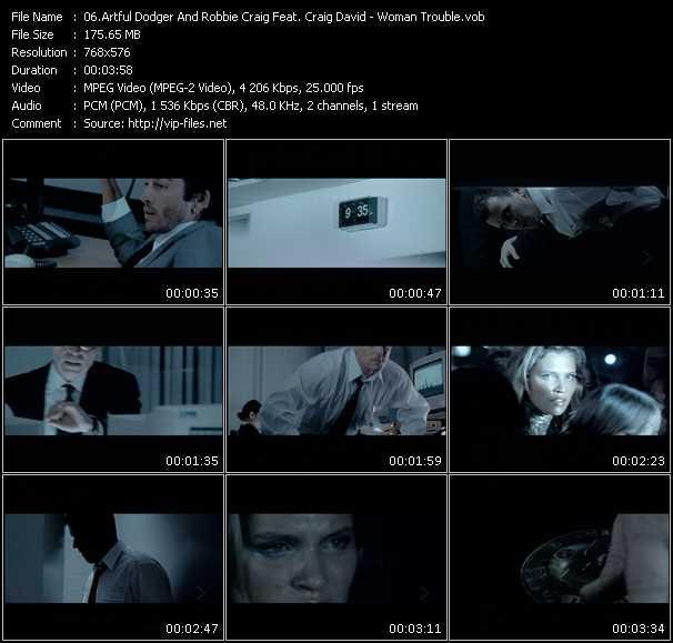 Artful Dodger And Robbie Craig Feat. Craig David video screenshot