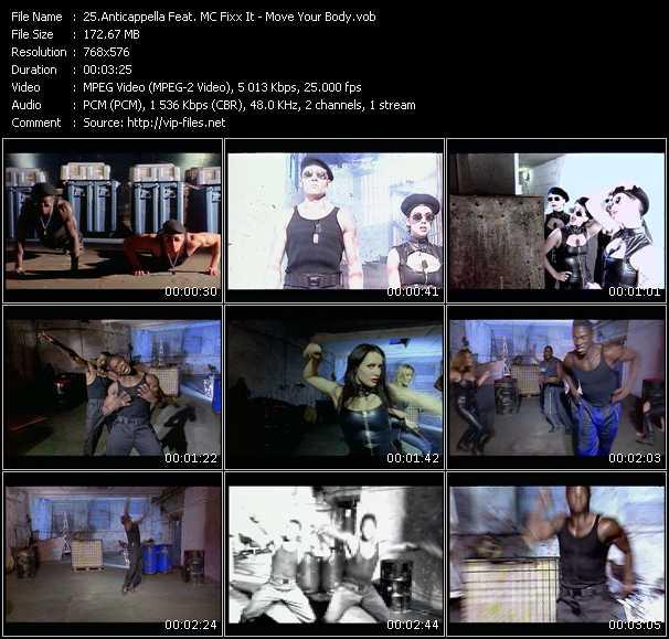 Anticappella Feat. MC Fixx It video screenshot