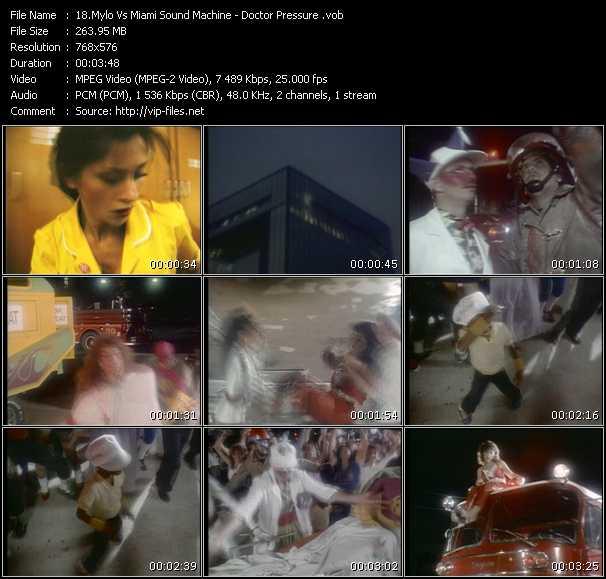 Mylo Vs. Miami Sound Machine video screenshot