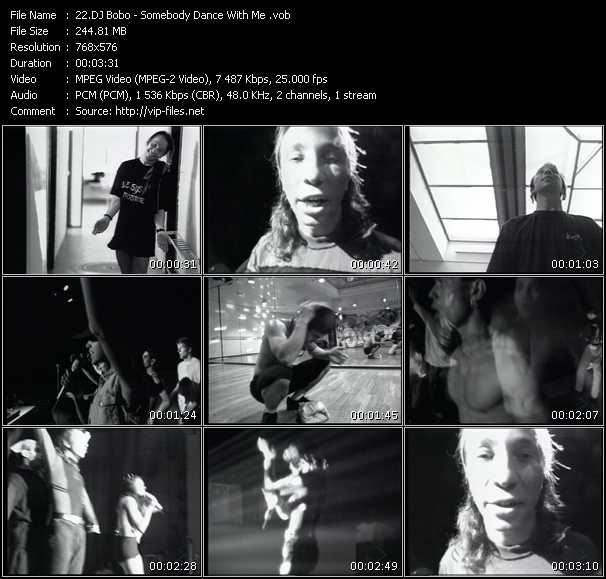 Dj Bobo video screenshot